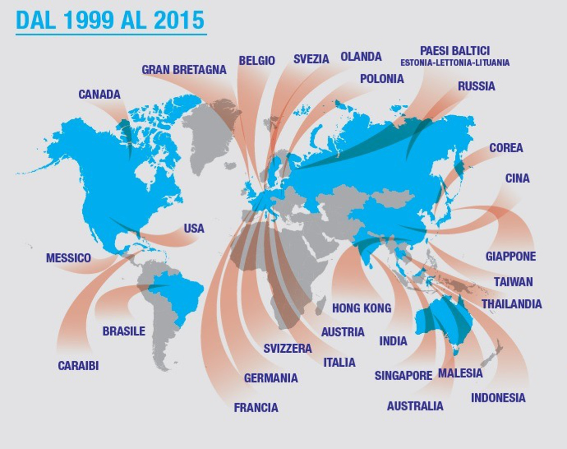 Il vino italiano nel mondo: mappe e prospettive