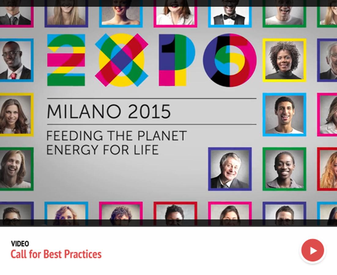 Expo, un bando sulle buone pratiche