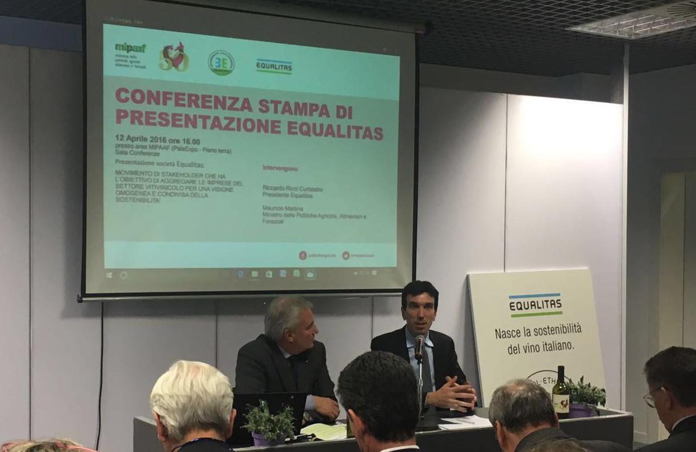 Ashtag Tweet Book e  Equalitas tra le novità di Vinitaly 2016