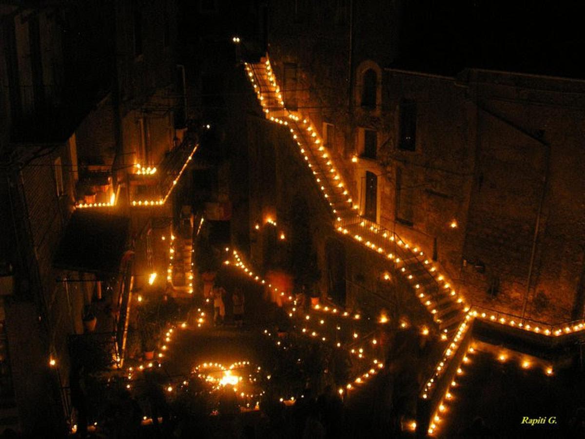 10000 candele per degustare piatti e vini dei Cimini