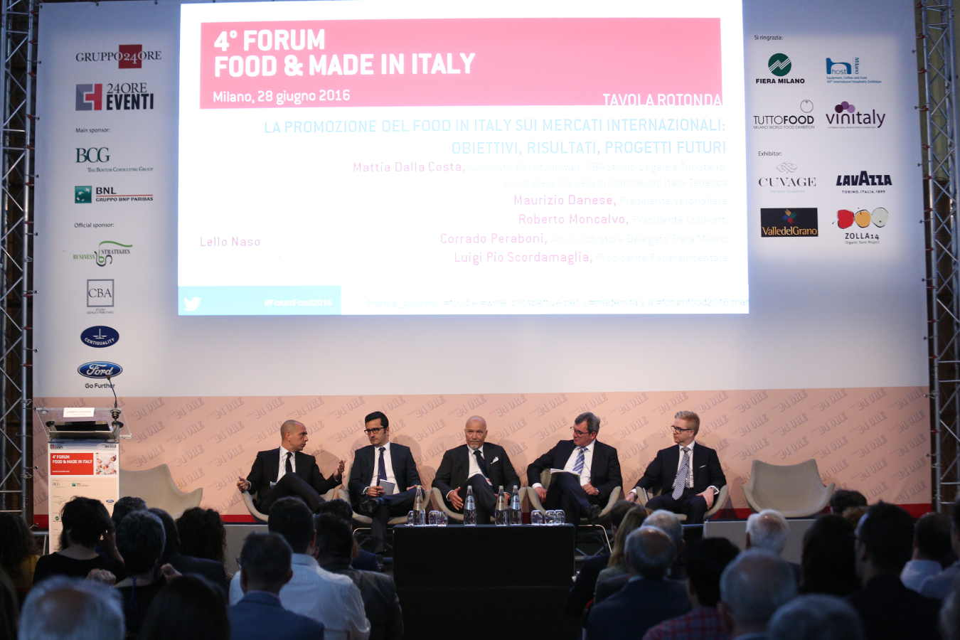 Brexit al Forum Food & Made in Italy