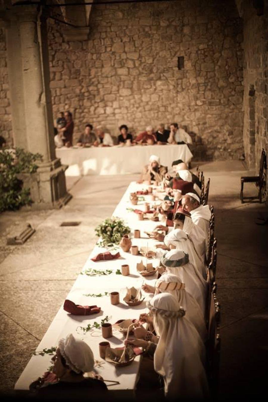 Abbadia S.Salvatore celebra l'Offerta dei censi e l'antica via  Francigena