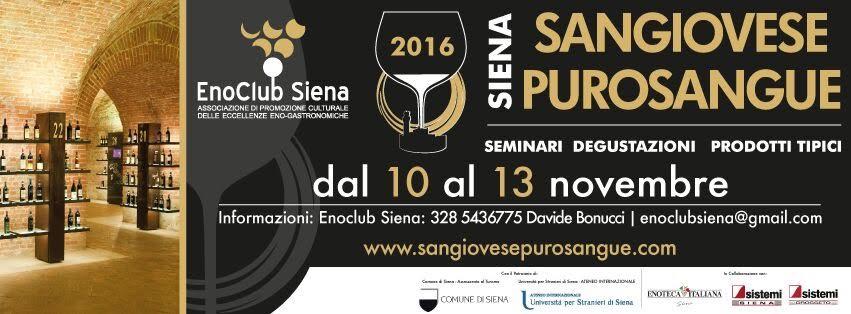Sangiovese Purosangue: Siena celebra il grande vitigno