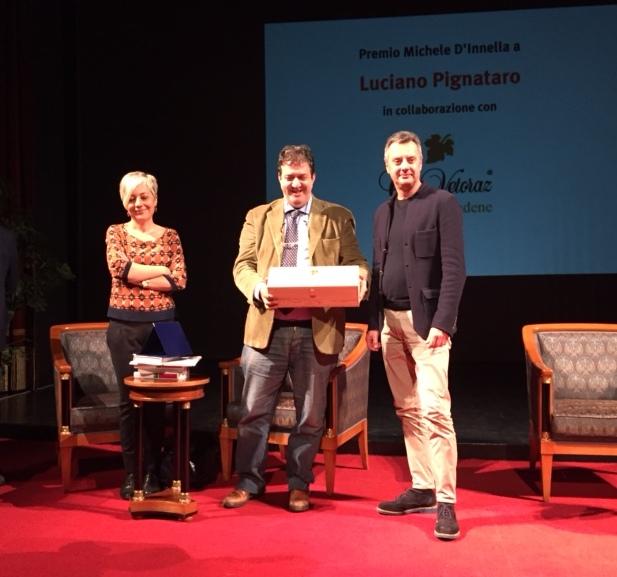 A Luciano Pignataro il Premio Michele D'Innella da Col Vetoraz