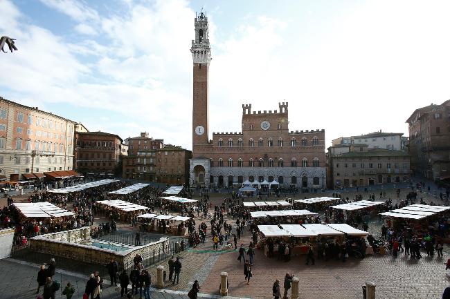 Il Mercato nel Campo, Siena si veste di sapori