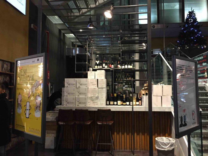 Il vino al bicchiere al Mercato Centrale