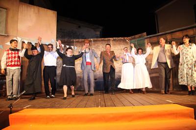 Il Teatro Popolare delle Città del Vino in rassegna a Monte San Savino con il premio Il Giogo 2014