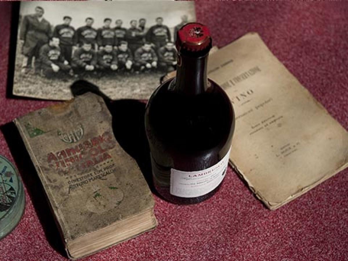 Al Vinitaly la memoria storica del Lambrusco