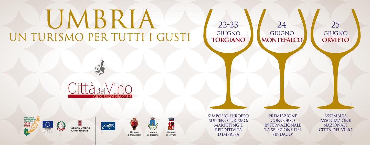 L'Umbria protagonista della Convention di Primavera delle Città del Vino. Un Simposio internazionale sul turismo del vino