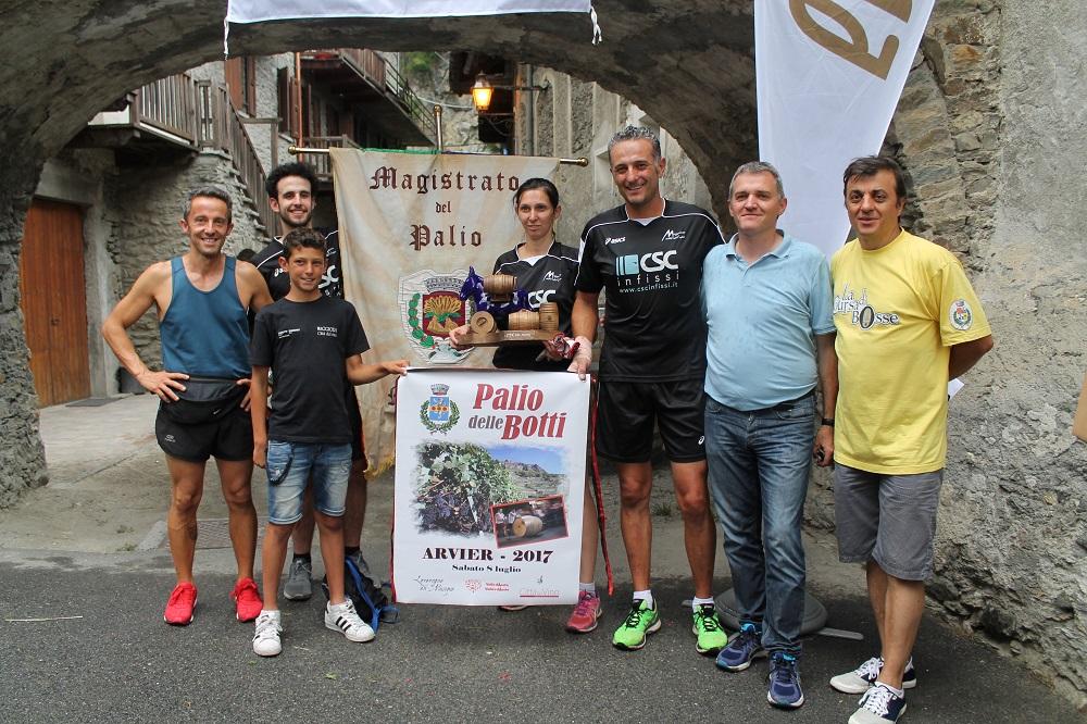 Maggiora vince il Palio delle Botti di Arvier in Valle d'Aosta