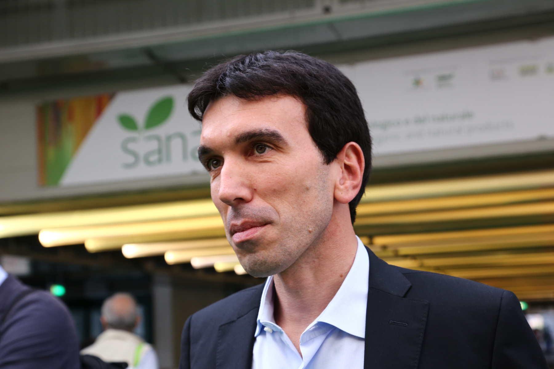 Il Ministro Martina in visita al Sana