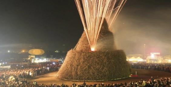 Focàra di Novoli, festa della vite e della pace