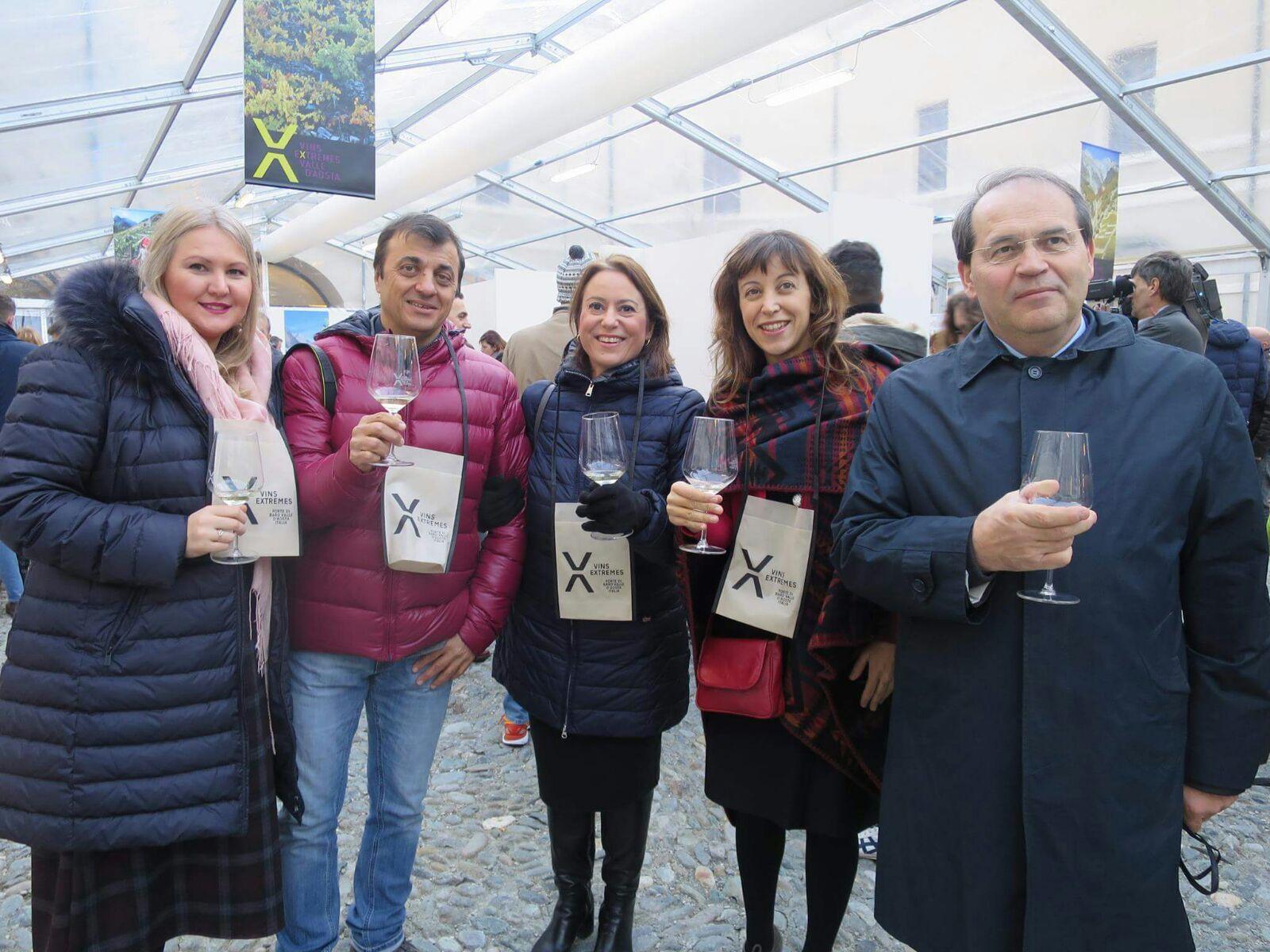 """Vins Extrêmes 2017: il meglio dei vini d'alta quota"""