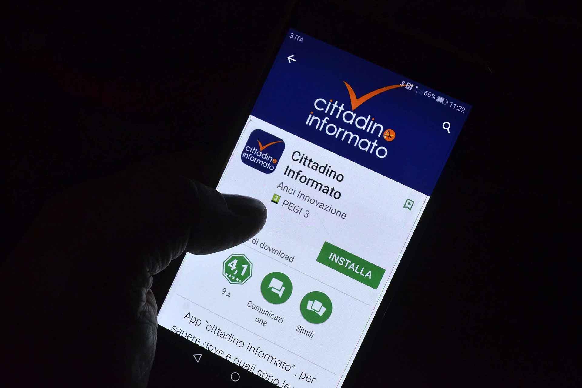 """A Gaiole la app """"Cittadino informato"""""""
