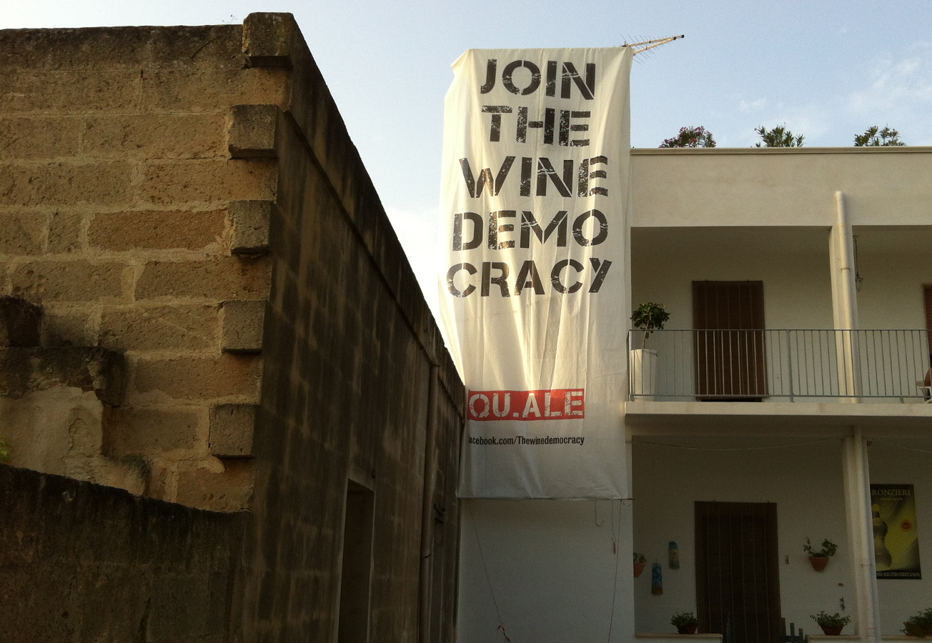 QU.ALE: joint the wine democracy