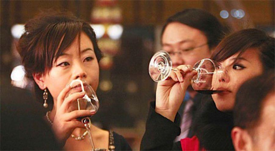 Export vino in Cina: in 5 anni + 40%