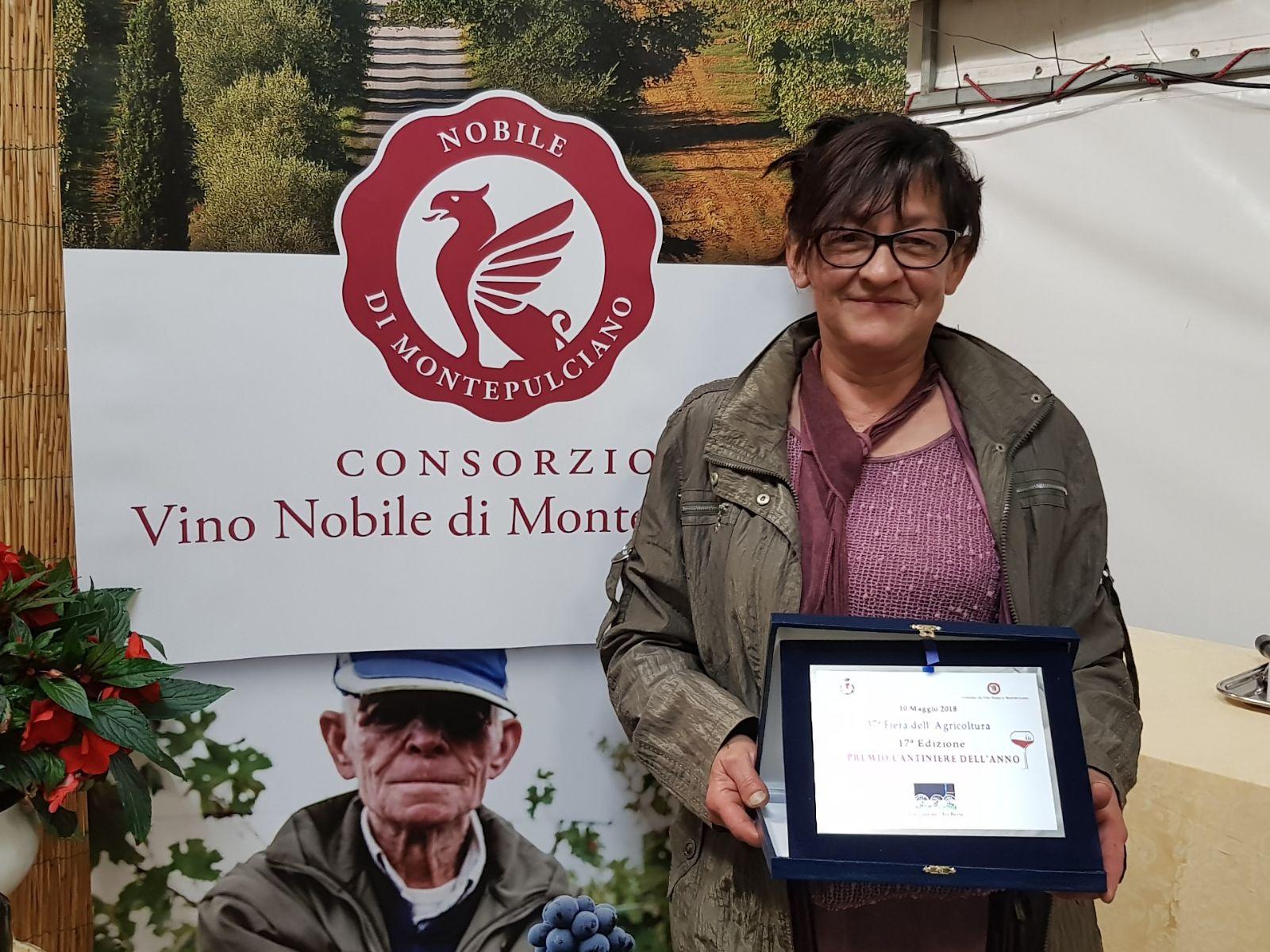 Montepulciano (Si) è una donna la migliore cantiniera dell'anno