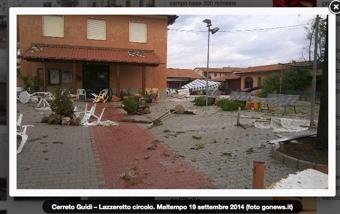 Maltempo: salidarietà per i Comuni della Toscana duramente colpiti