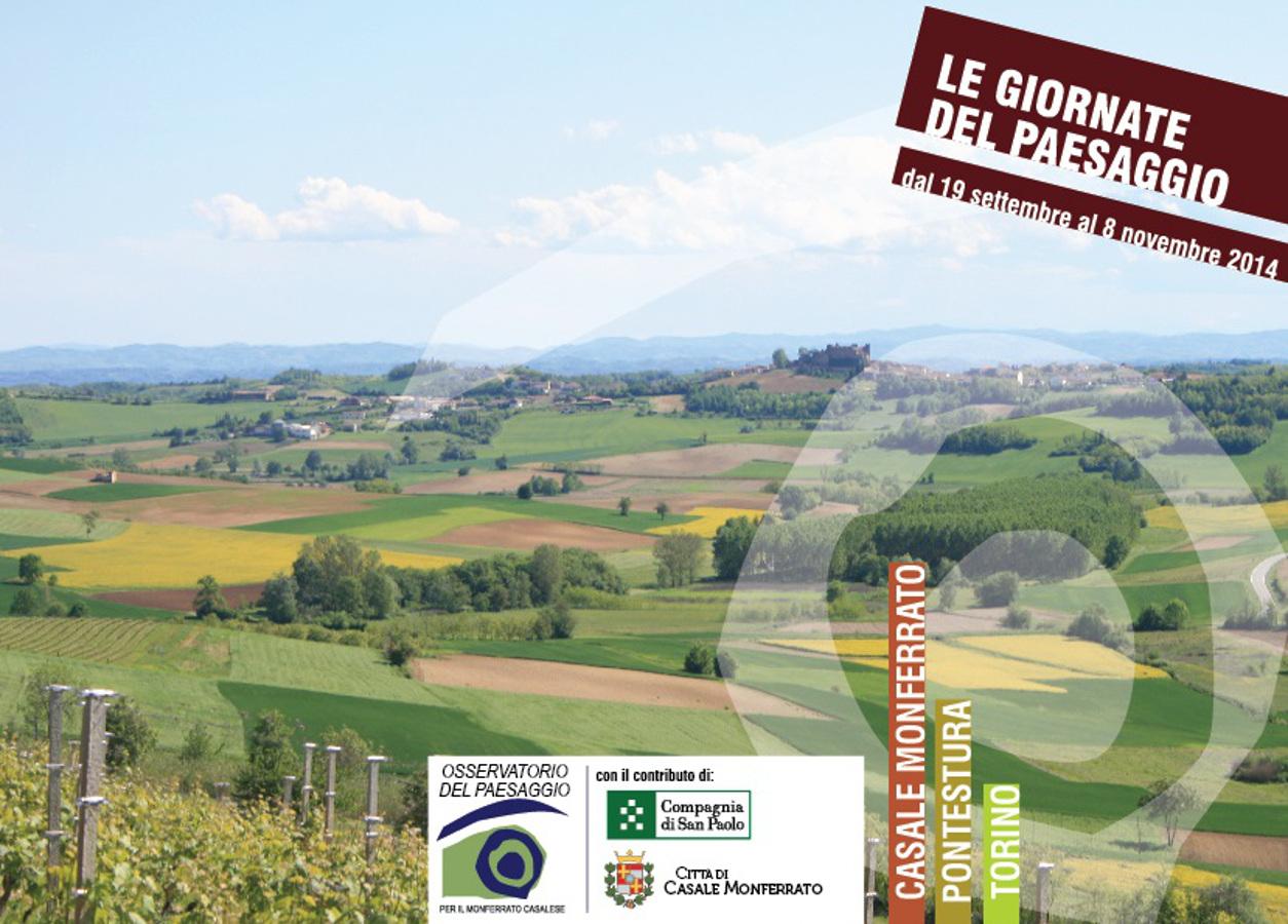 Le giornate del paesaggio nel Monferrato Casalese