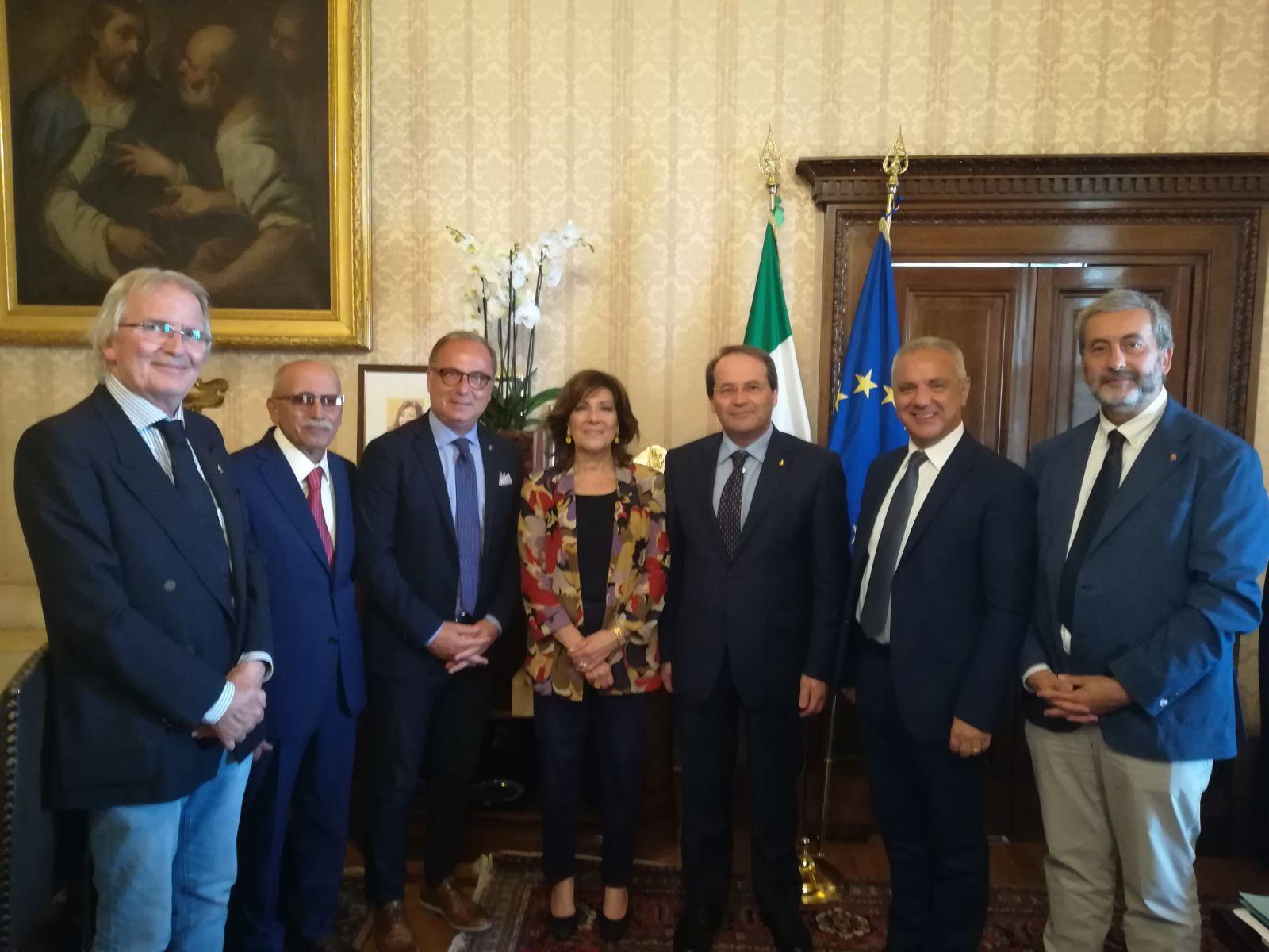 Città del Vino: incontro con la Presidente del Senato