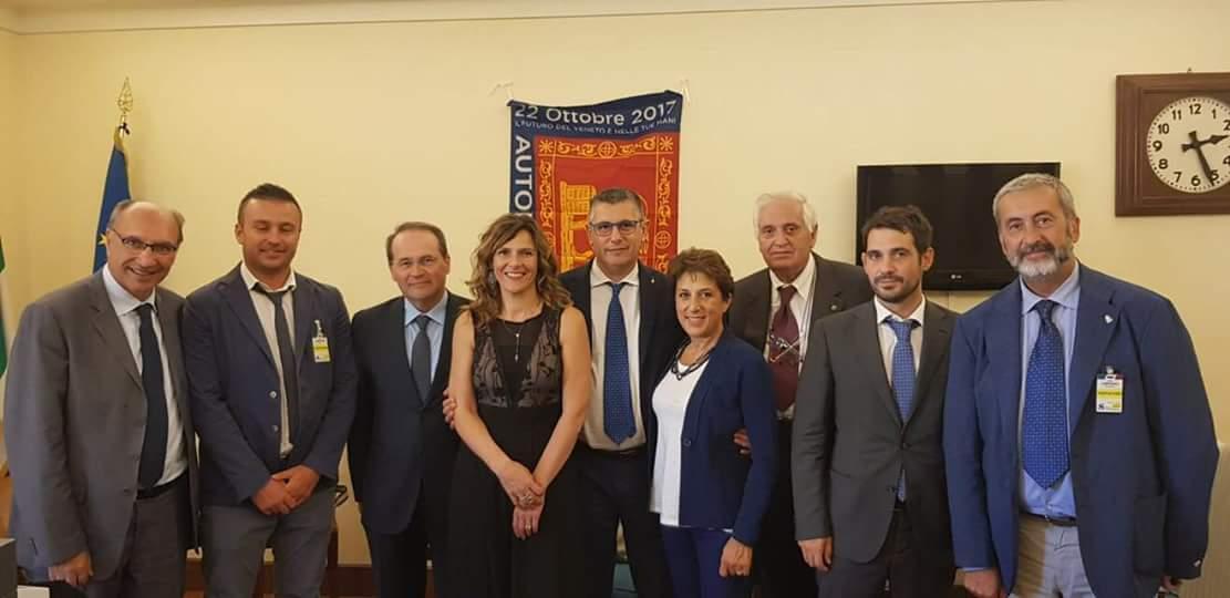 Città del Vino: incontro con il Presidente della Commissione Agricoltura del Senato