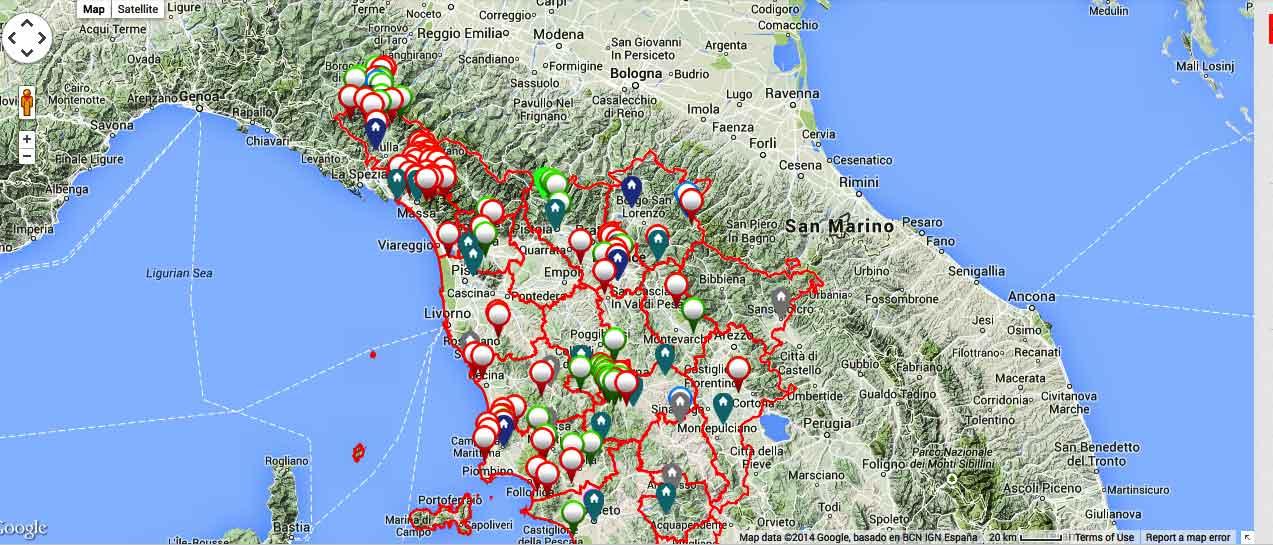 PIT Toscana, la parola ai Comuni del Vino