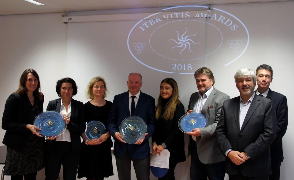 Proclamati a Bruxelles  i vincitori del Premio Iter Vitis Award 2018