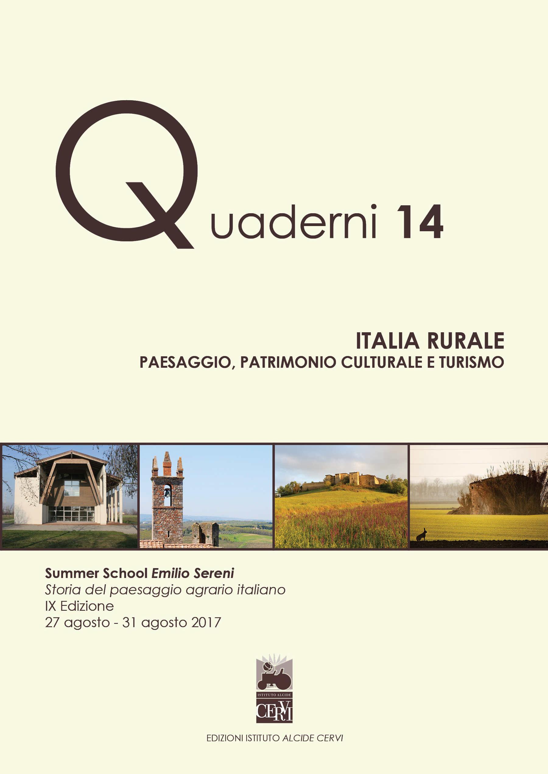 Italia Rurale. Paesaggio, patrimonio culturale e turismo