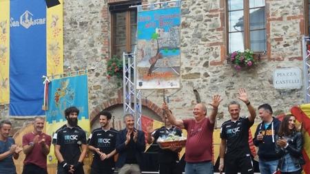 Palio delle Botti, Maggiora lo dedica al sindaco Giuseppe Fasola