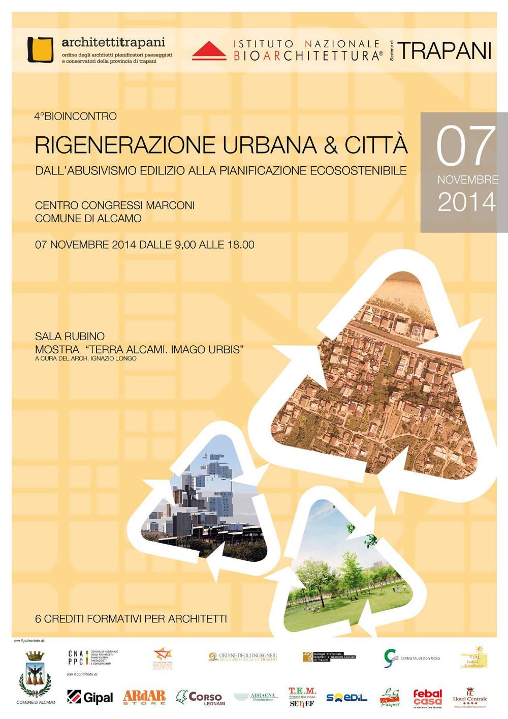Città del Vino al  Bio Incontro di Alcamo sulla rigenerazione urbana