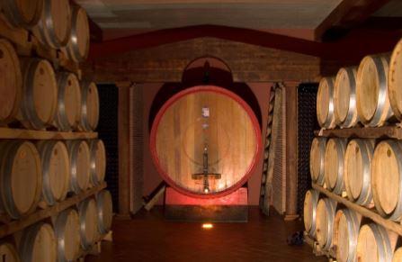 Un tempio dedicato al vino e al duro lavoro dell'uomo