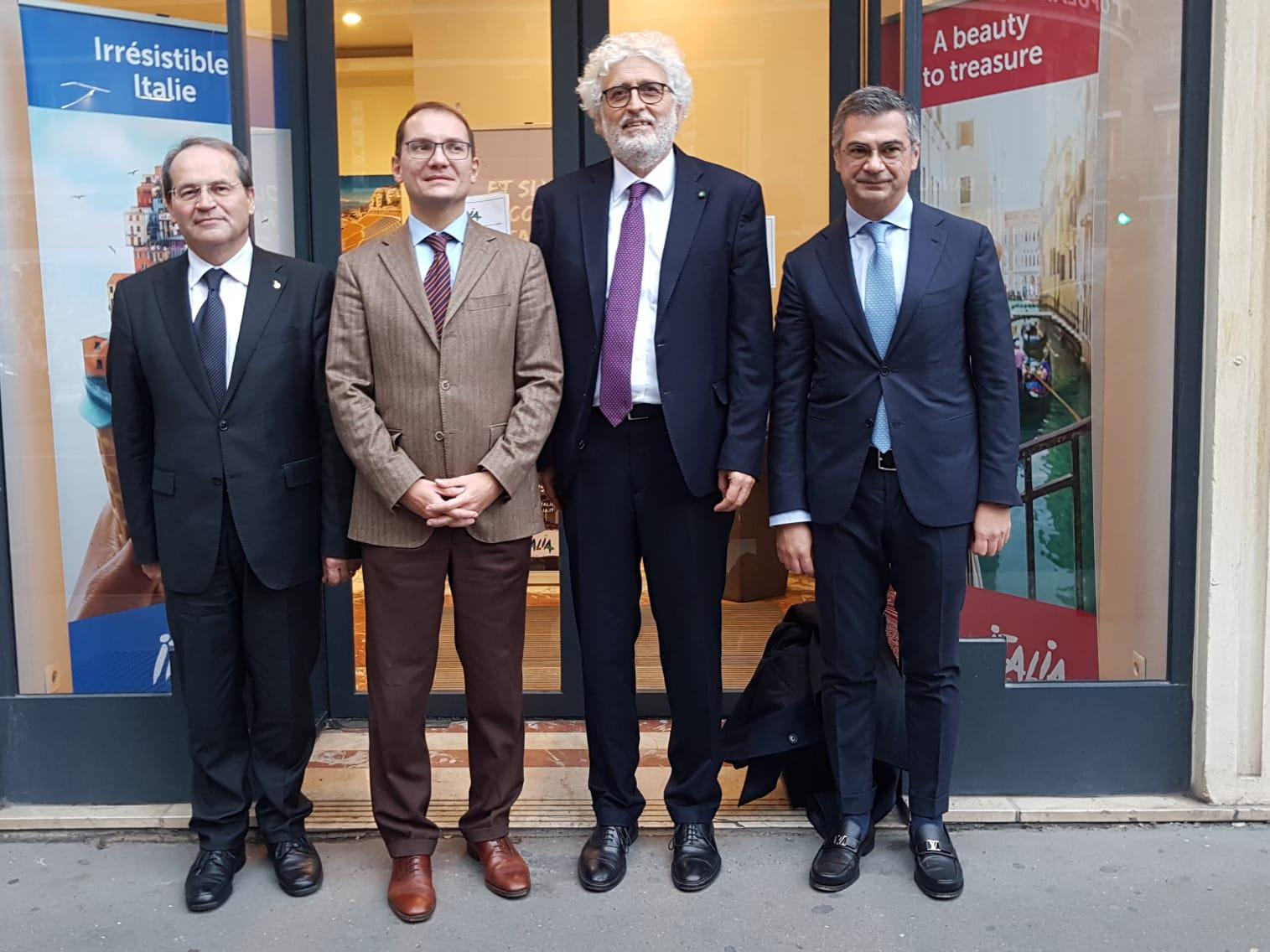 Sannio e Falanghina protagonisti a Parigi