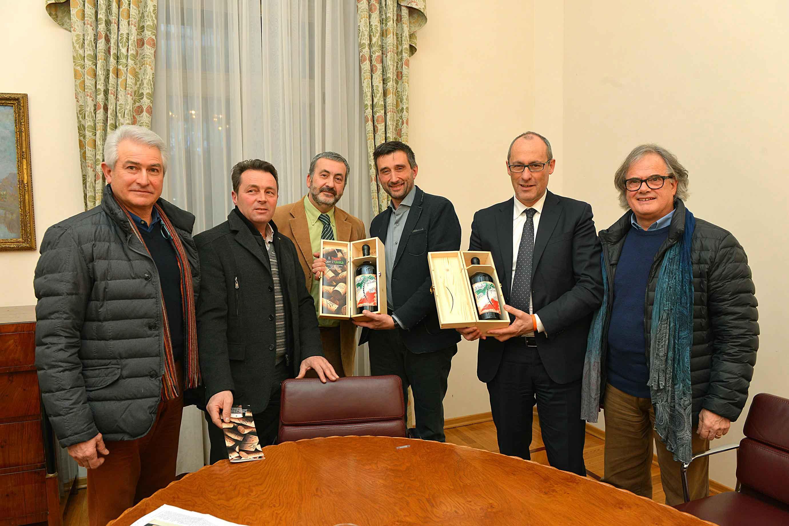 Trentino: le Città del Vino incontrano il Presidente Ugo Rossi