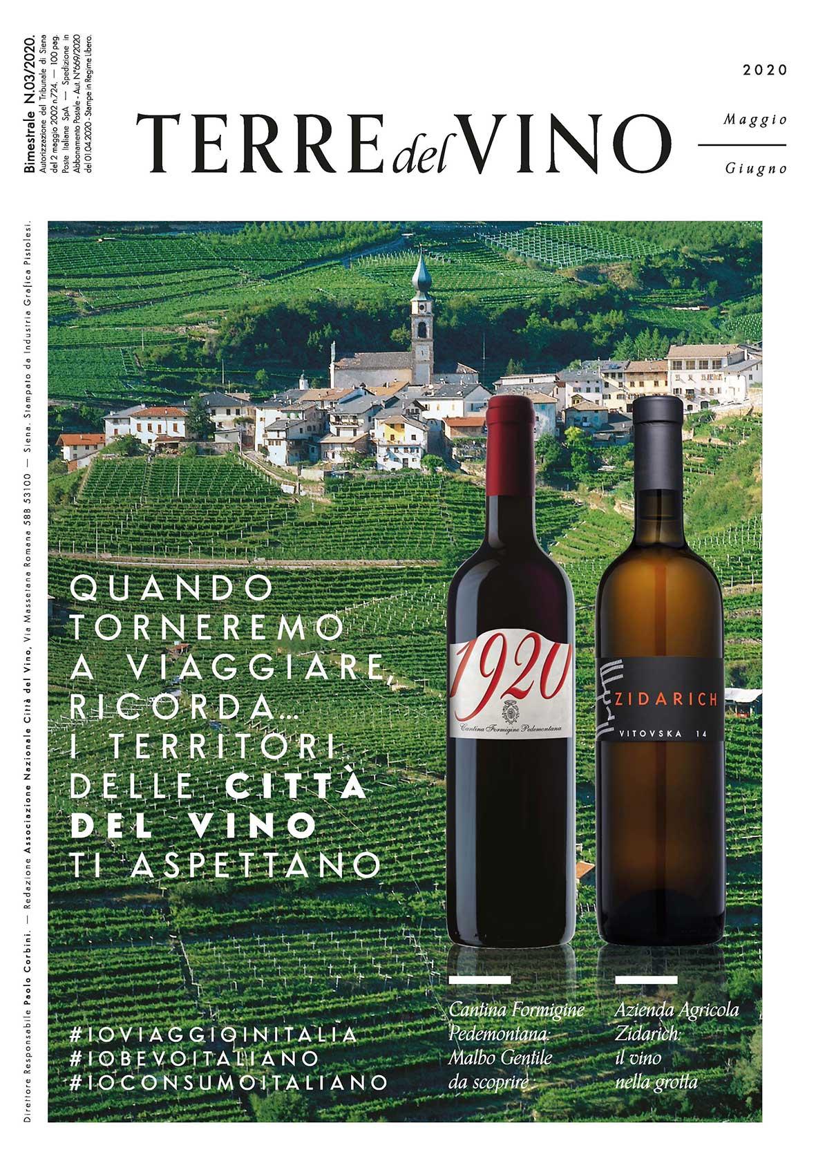 Terre del Vino: in distribuzione Maggio/Giugno
