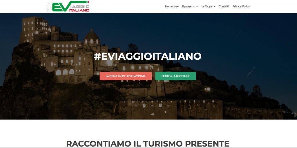 Italia. Il Tour Elettrico di Enit