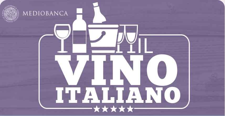 Mediobanca: il vino italiano continua a crescere all'estero