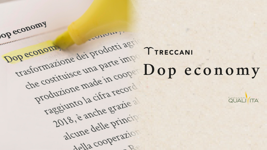 Dop economy nel Vocabolario Treccani