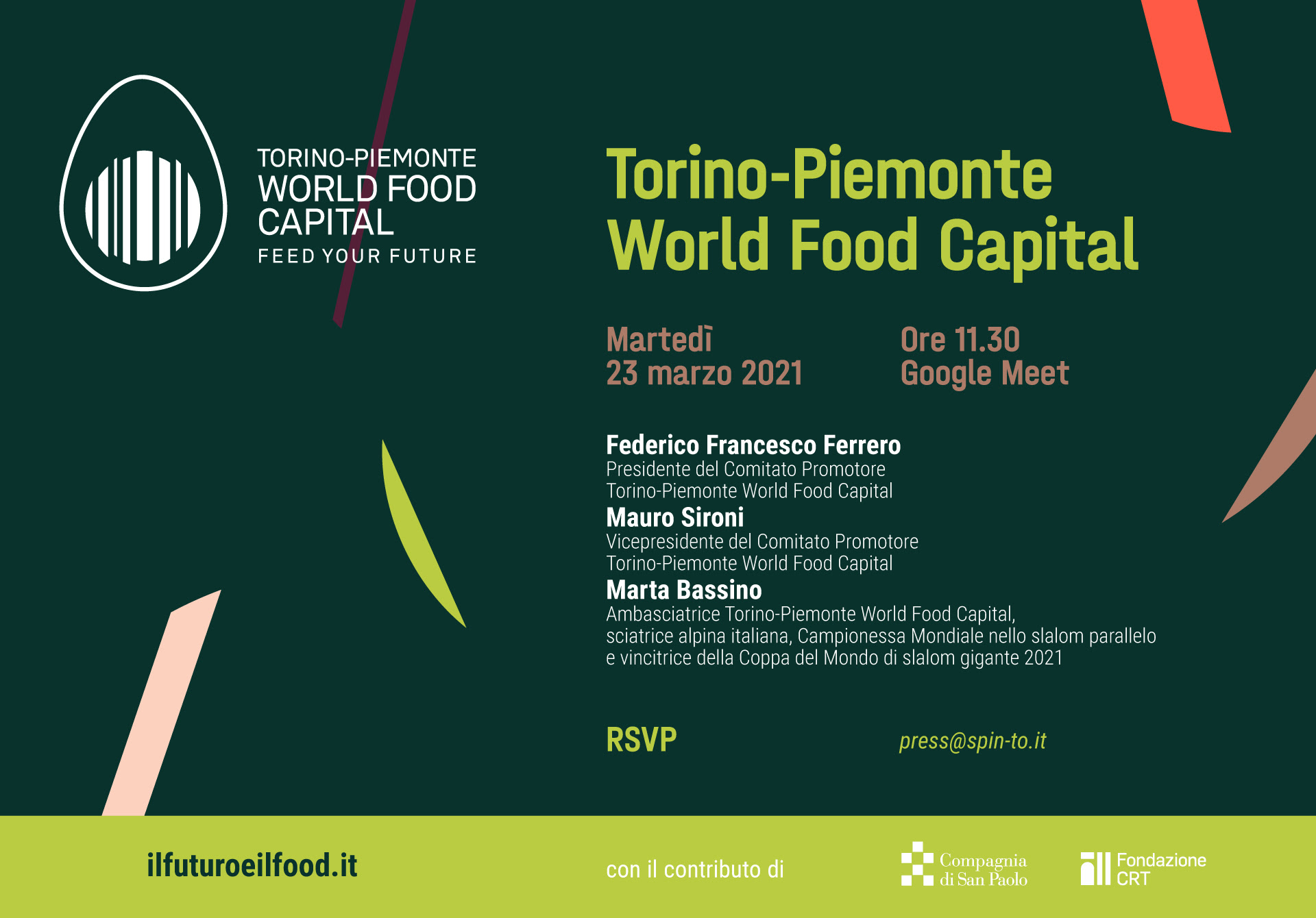 Torino-Piemonte World Food Capital