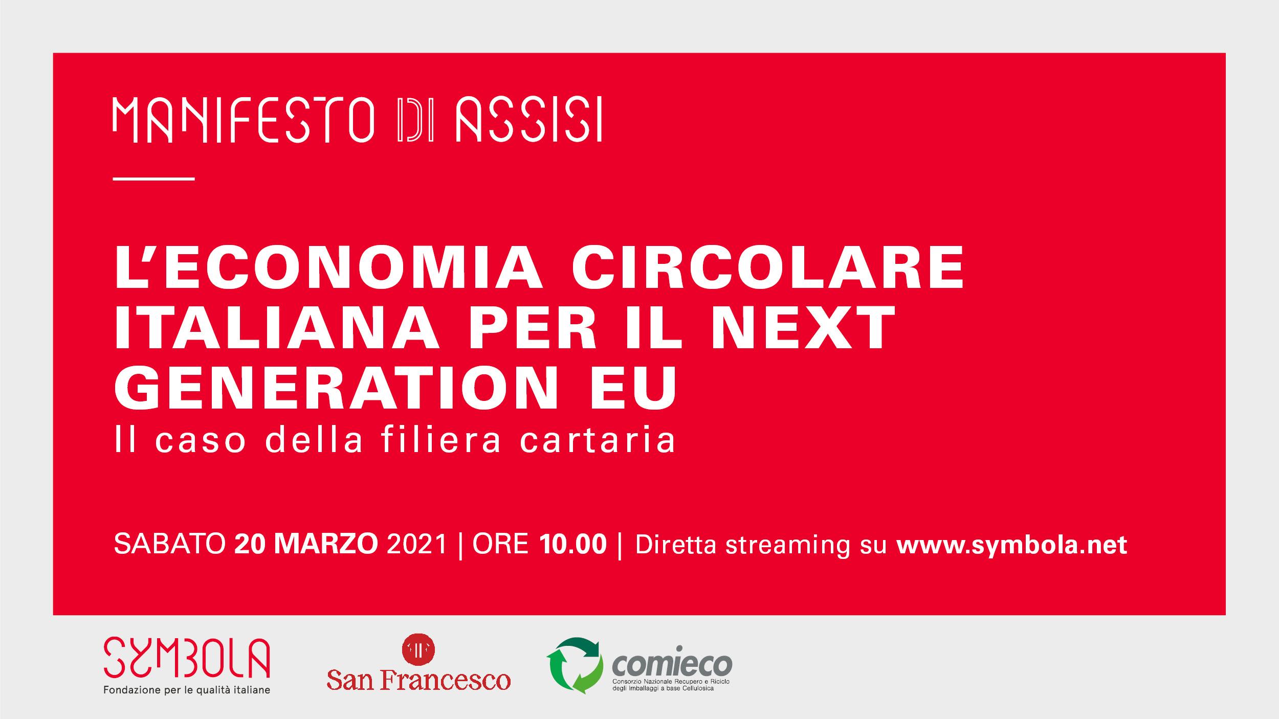 Economia Circolare italiana per il Next Generation Eu