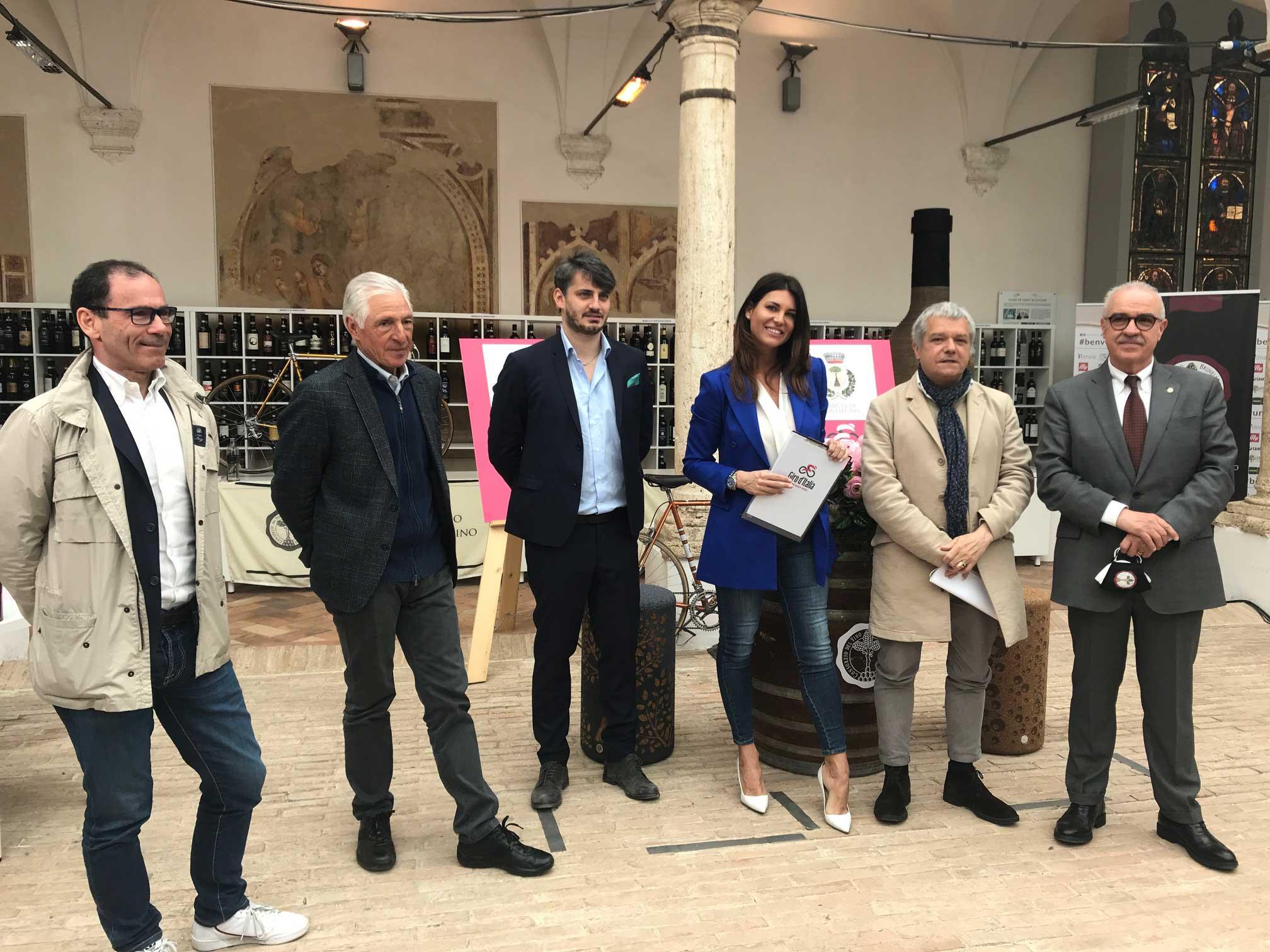 Il Giro d'Italia torna in terra di Siena con due tappe