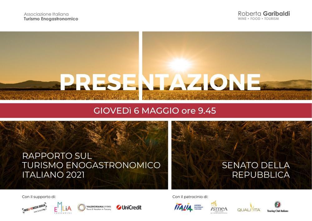 Rapporto sul Turismo Enogastronomico Italiano 2021