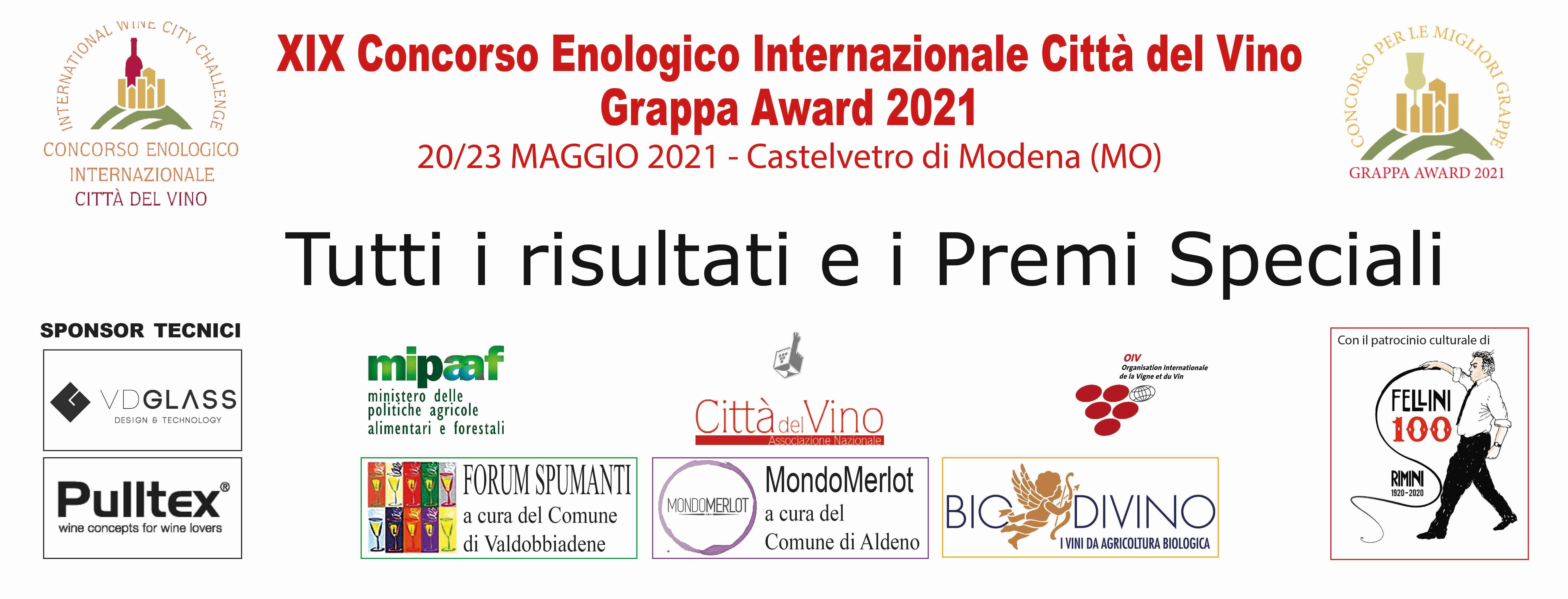 Grappa Award 2021. I risultati del secondo concorso Città del Vino dedicato alle grappe