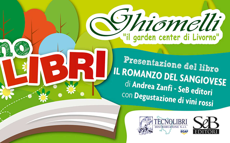"""""""Il romanzo del Sangiovese"""" al Giardino dei libri di Livorno"""