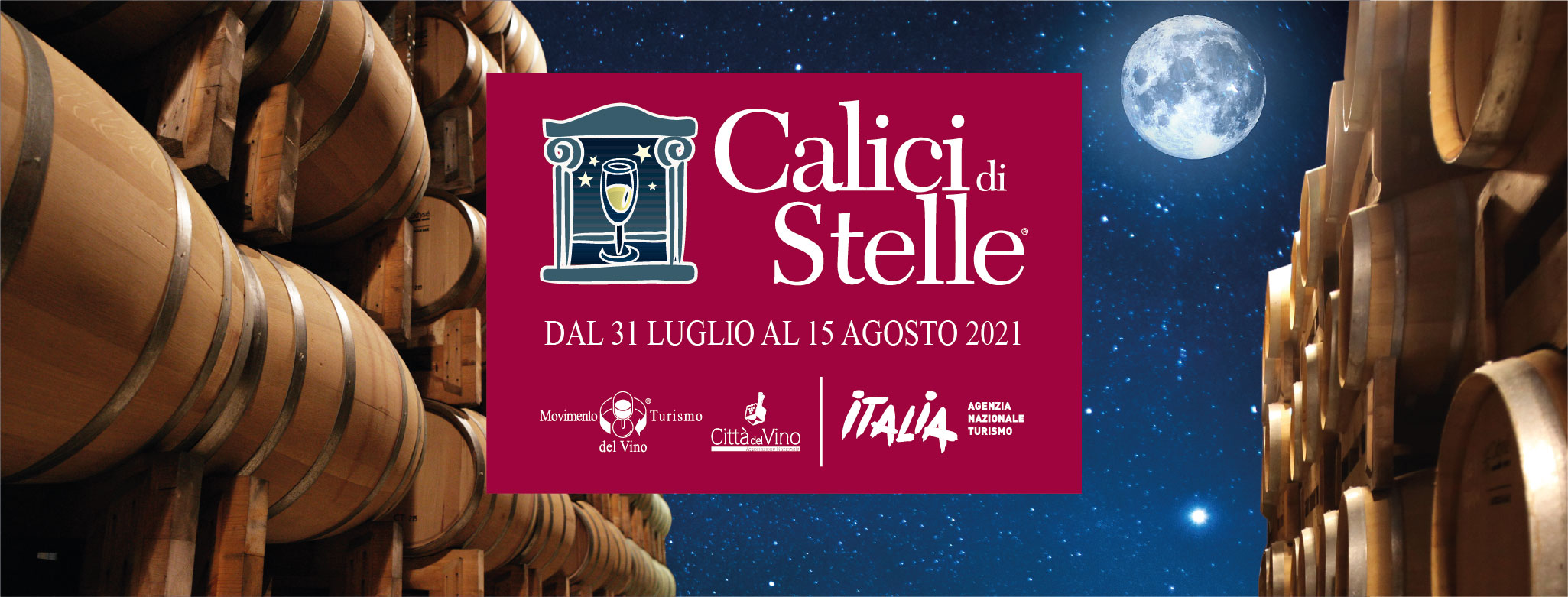 Calici di Stelle 2021 nelle Città del Vino del Trentino Alto Adige