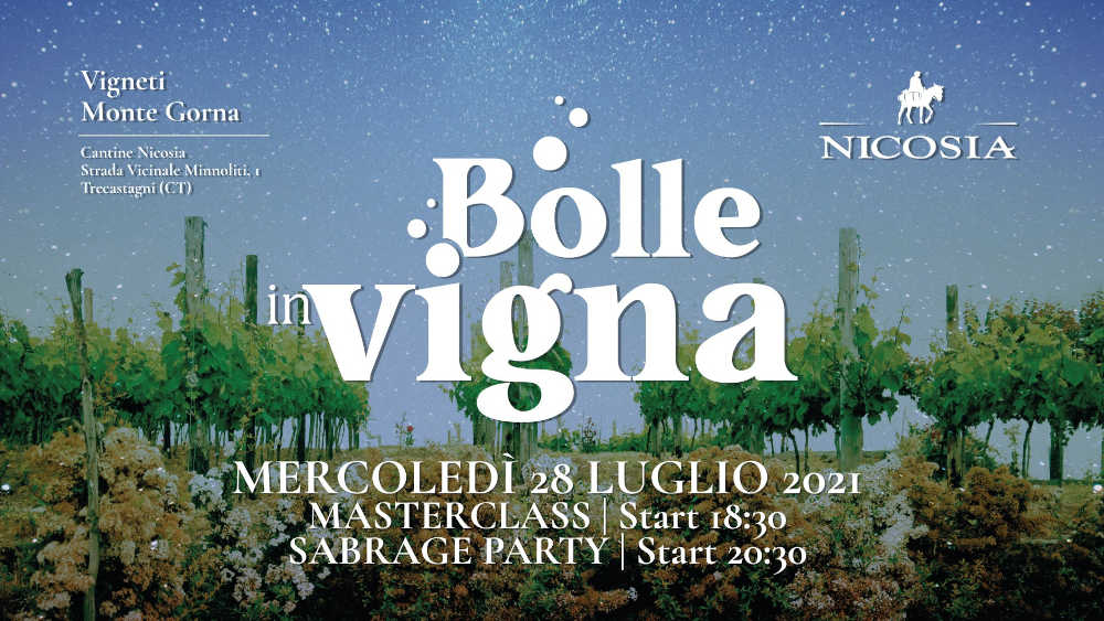 Bolle in Vigna 2021–Sabrage Party