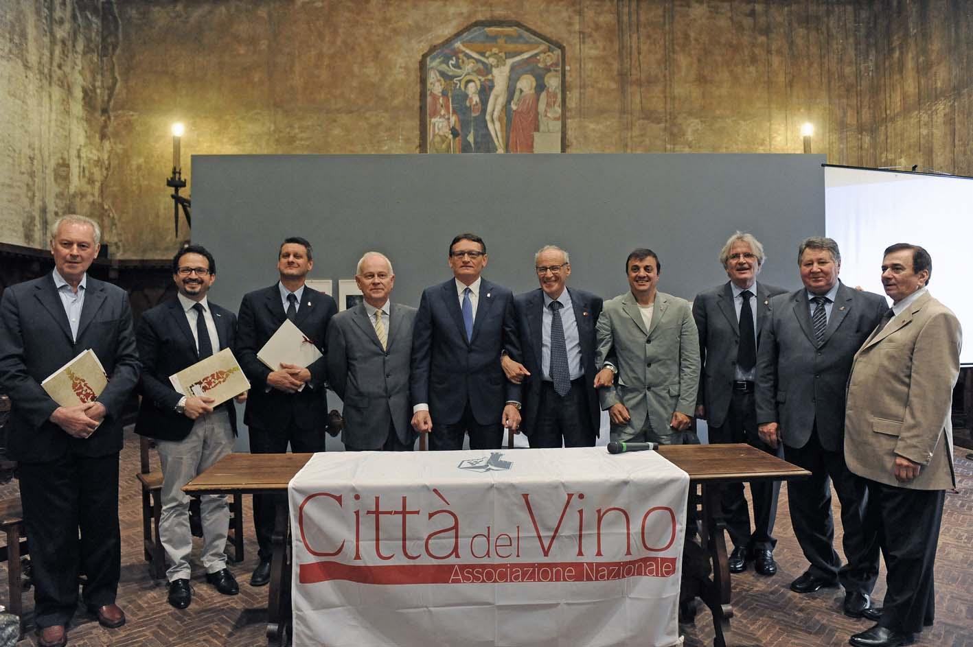 Cinque nuovi Ambasciatori delle Città del Vino