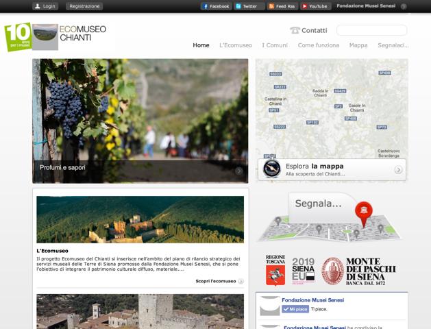 Ecomuseo del Chianti, tutto il territorio con un clic