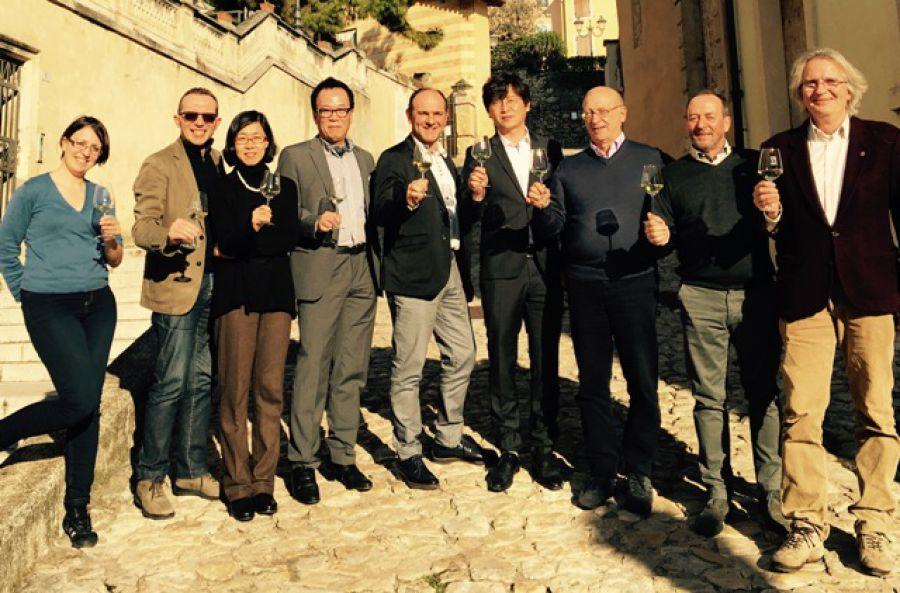 Soave e Prosecco Superiore: le Città del Vino incontrano una delegazione della Corea del Sud