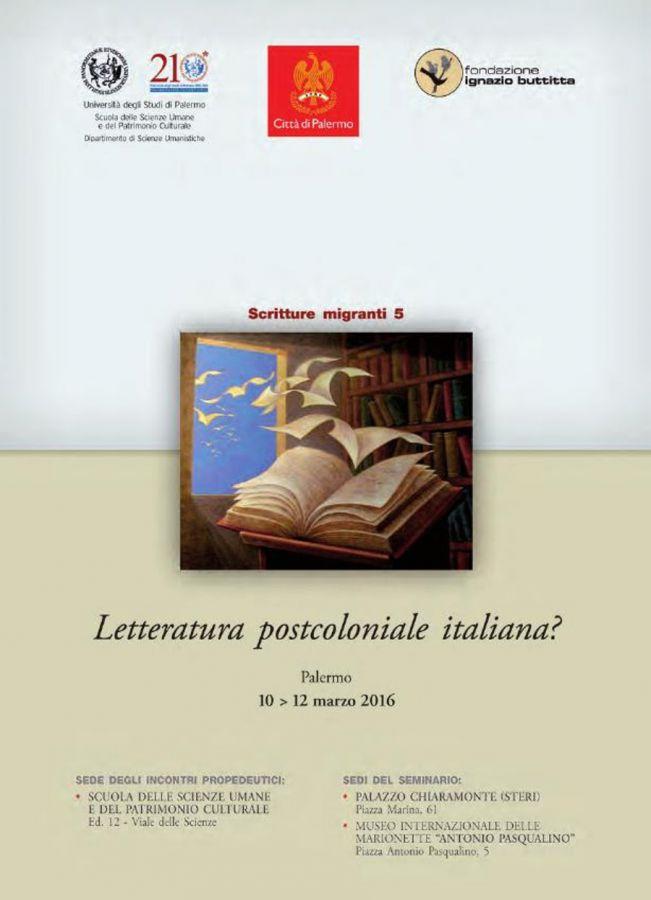 Letteratura postcoloniale italiana?