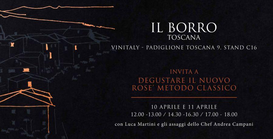 Bolle di Borro, un Sangiovese Rosé Metodo Classico